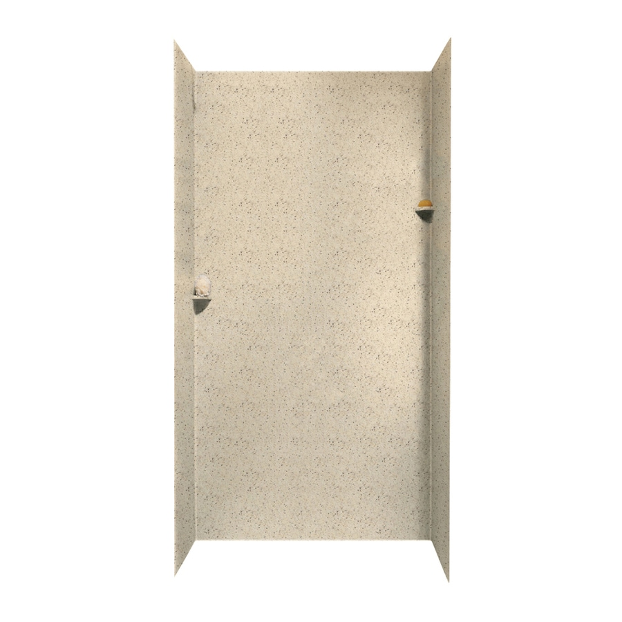 Swanstone Tahiti Desert Shower Wall Surround Side and Back Wall Kit (Common: 48-in x 48-in; Actual: 96-in x 48-in x 48-in)