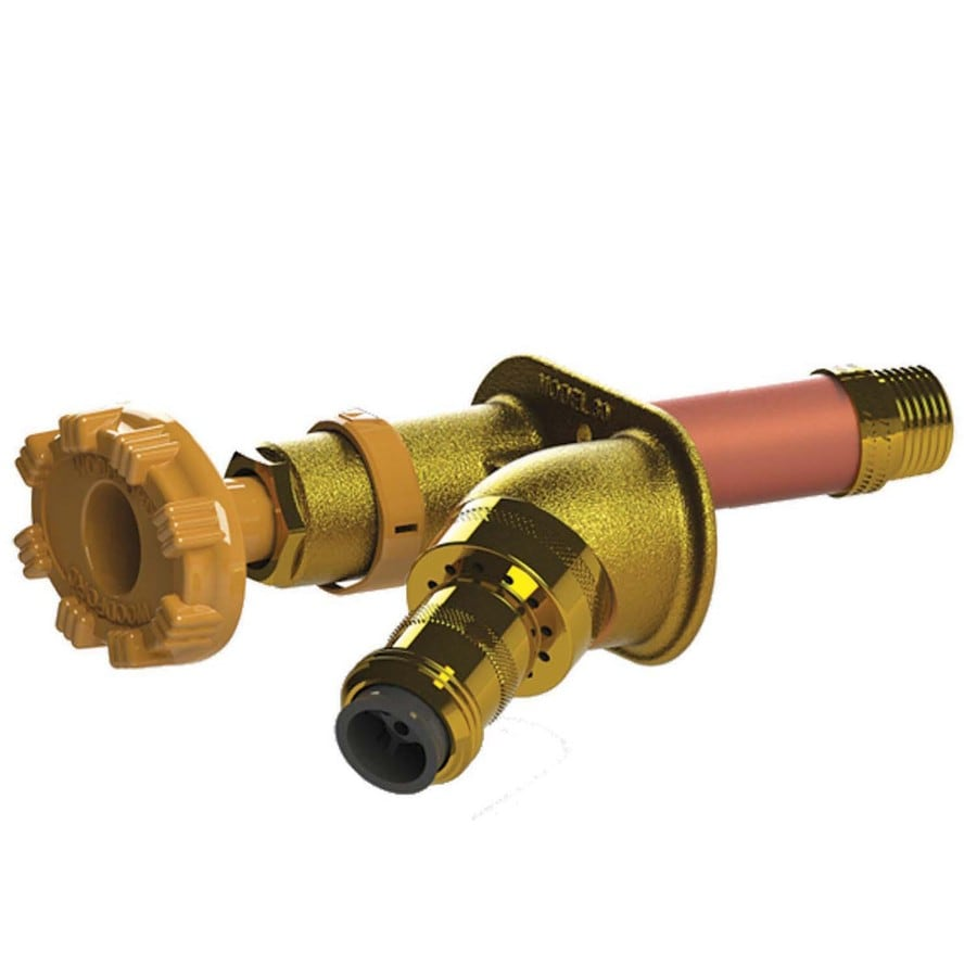 Woodford 6-in L 1/2-in Pex Brass Frost Proof Sillcock Valve