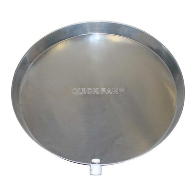 Holdrite 24 In Aluminum Water Heater Drain Pan With