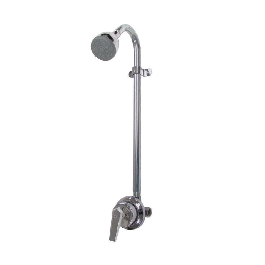 Speakman Sentinel Mark II Polished Chrome 1-handle Commercial Shower Faucet with Valve