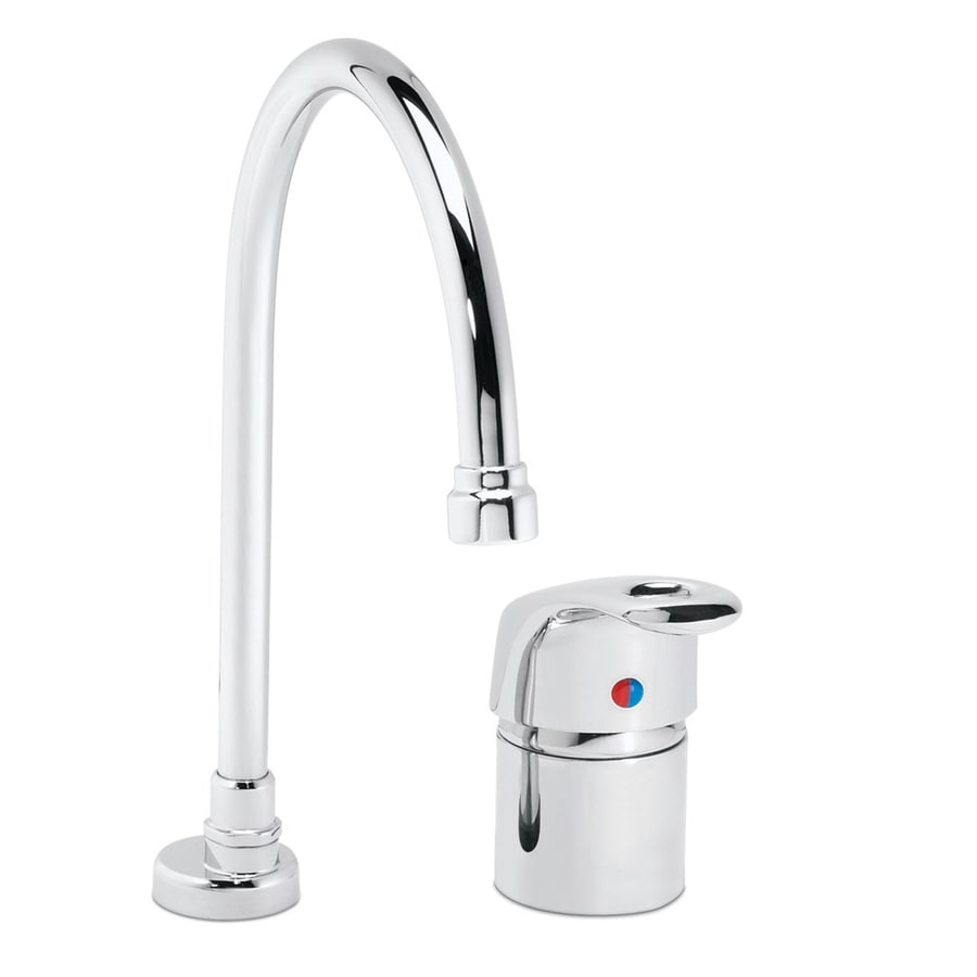 Shop Speakman Lab Faucets Polished Chrome 1-Handle High-Arc Kitchen ...