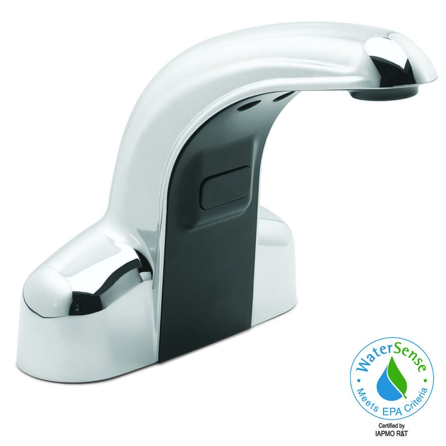 Speakman Sensorflo Polished Chrome Touchless Widespread WaterSense Bathroom Faucet