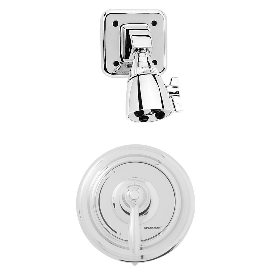 Speakman SentinelPro Polished Chrome Tub and Shower Faucet with Single Function Showerhead