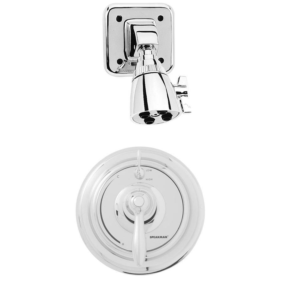 Speakman SentinelPro Polished Chrome 1-handle Commercial Shower Faucet with Valve