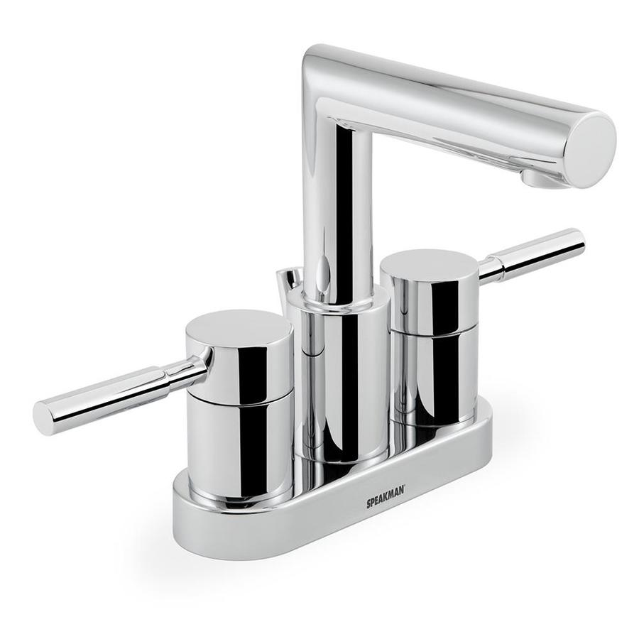 Speakman Neo Polished Chrome 2-handle 4-in Centerset