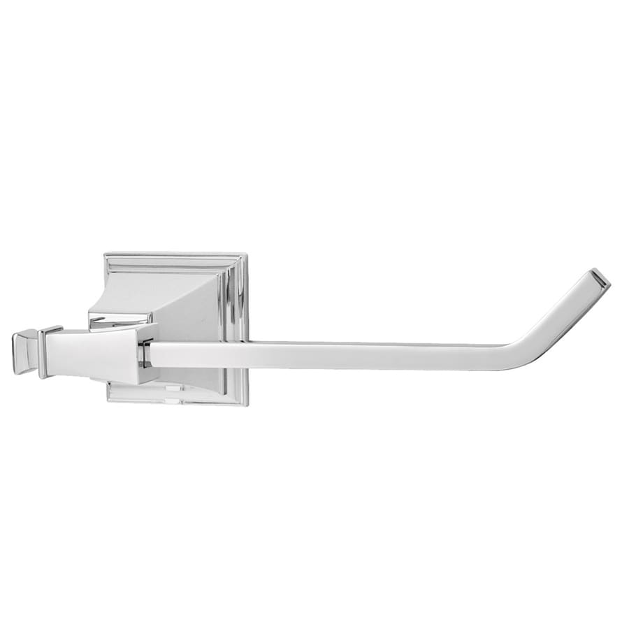 Speakman Rainier Polished Chrome Surface Mount Single Post with Arm Toilet Paper Holder