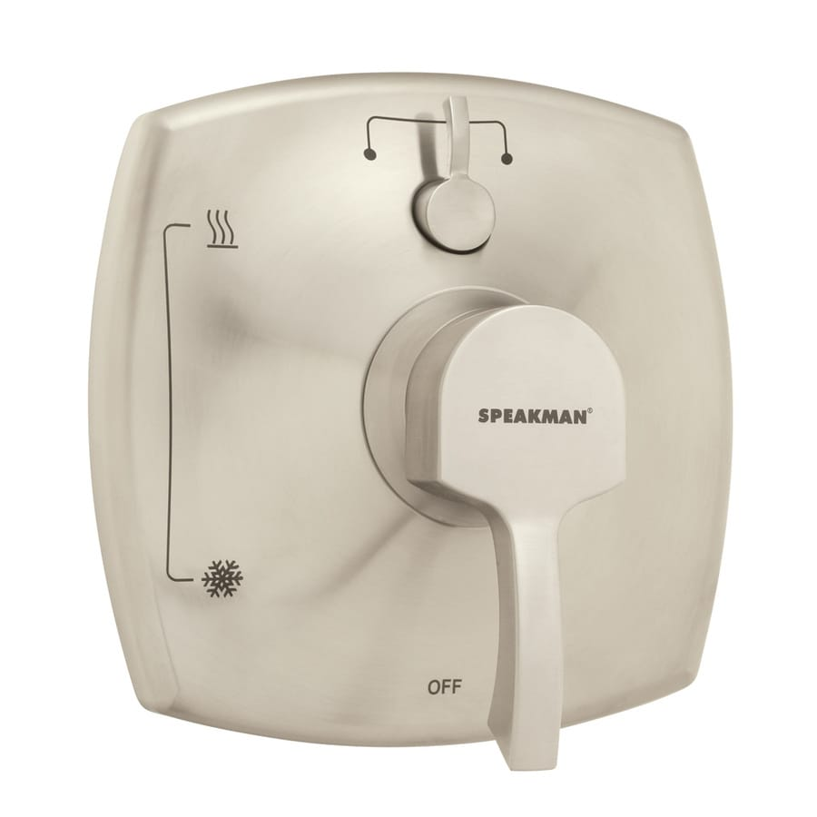 Speakman Tiber Brushed Nickel 1-Handle Bathtub and Shower Faucet