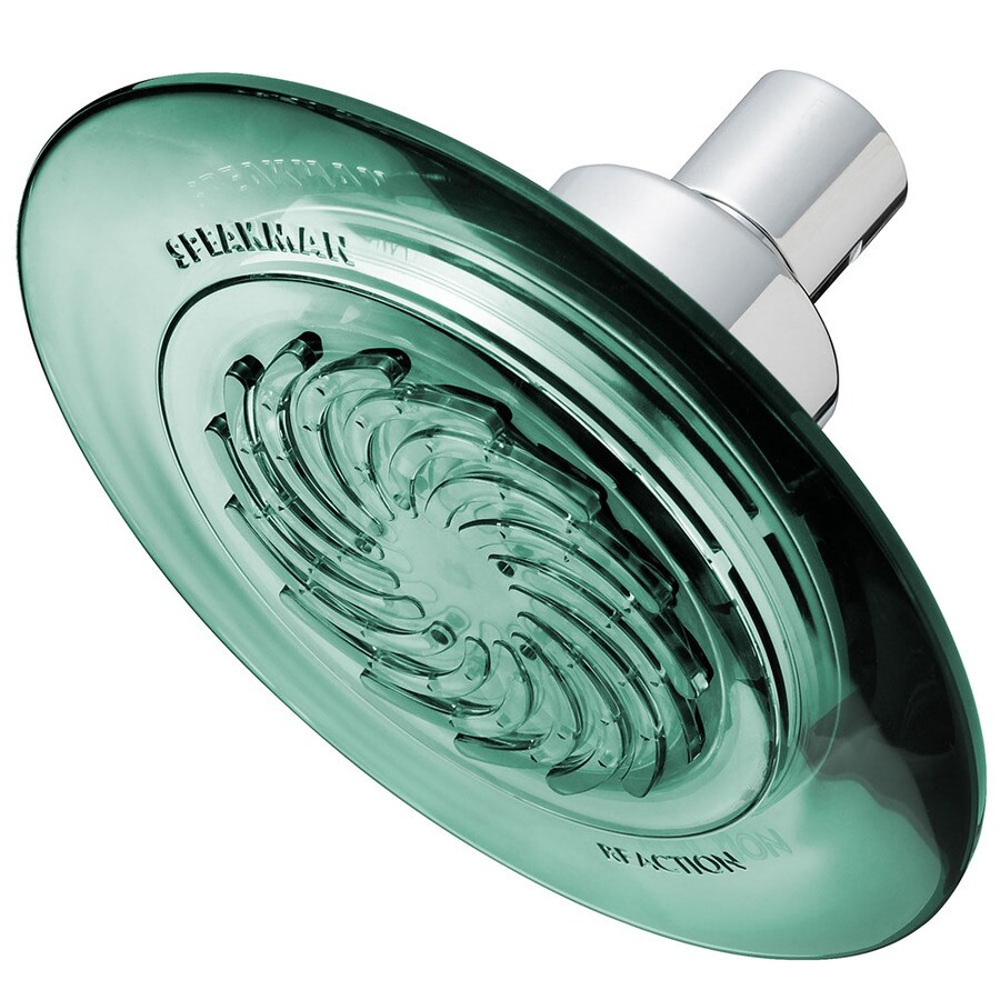 Speakman Speakman Reaction 5.5-in 2.0-GPM (7.6-LPM) Green and Polished Chrome WaterSense Showerhead