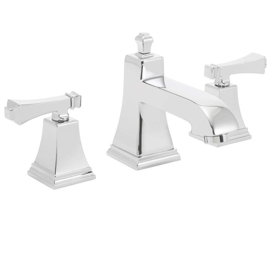 Speakman Rainier Polished Chrome 2-handle Widespread Commercial Bathroom Faucet