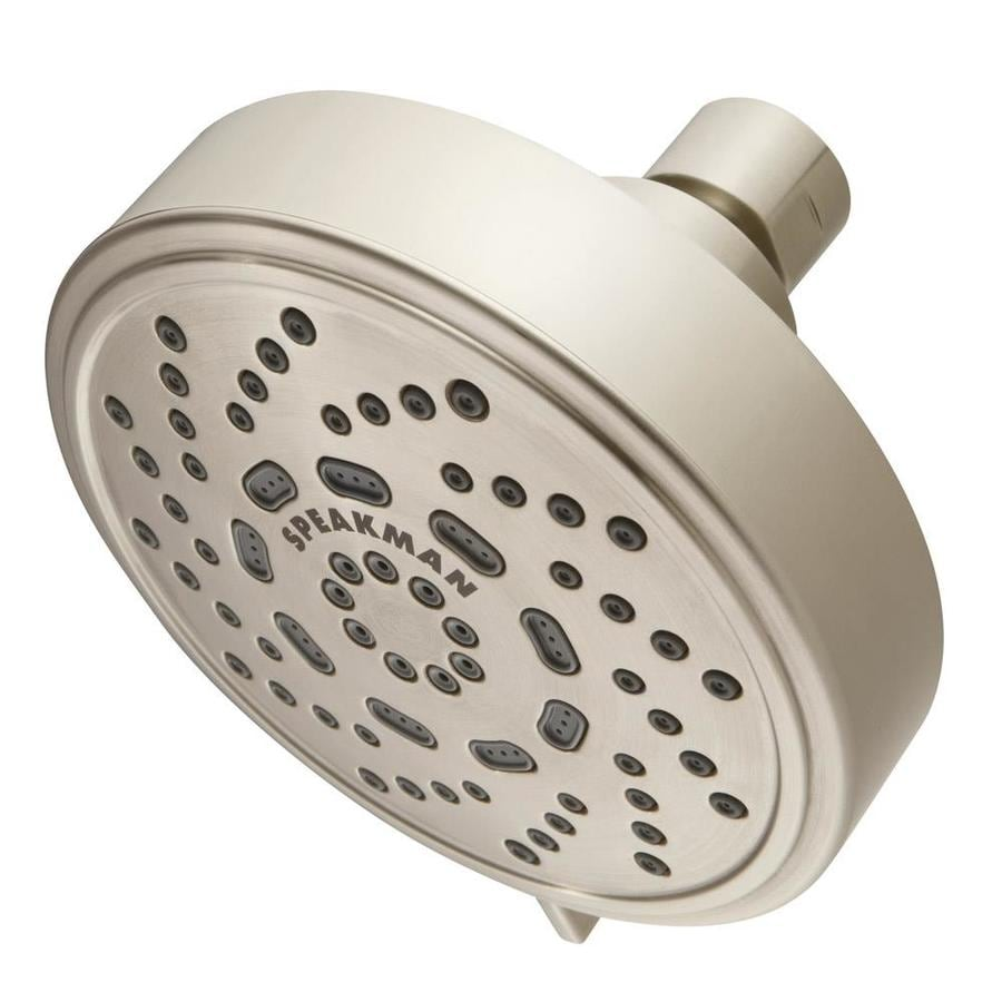 Speakman Echo Brushed Nickel 3-Spray Shower Head