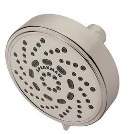 Speakman Echo Multi-Function Adjustable 1.75 GPM Shower Head, Brushed Nickel