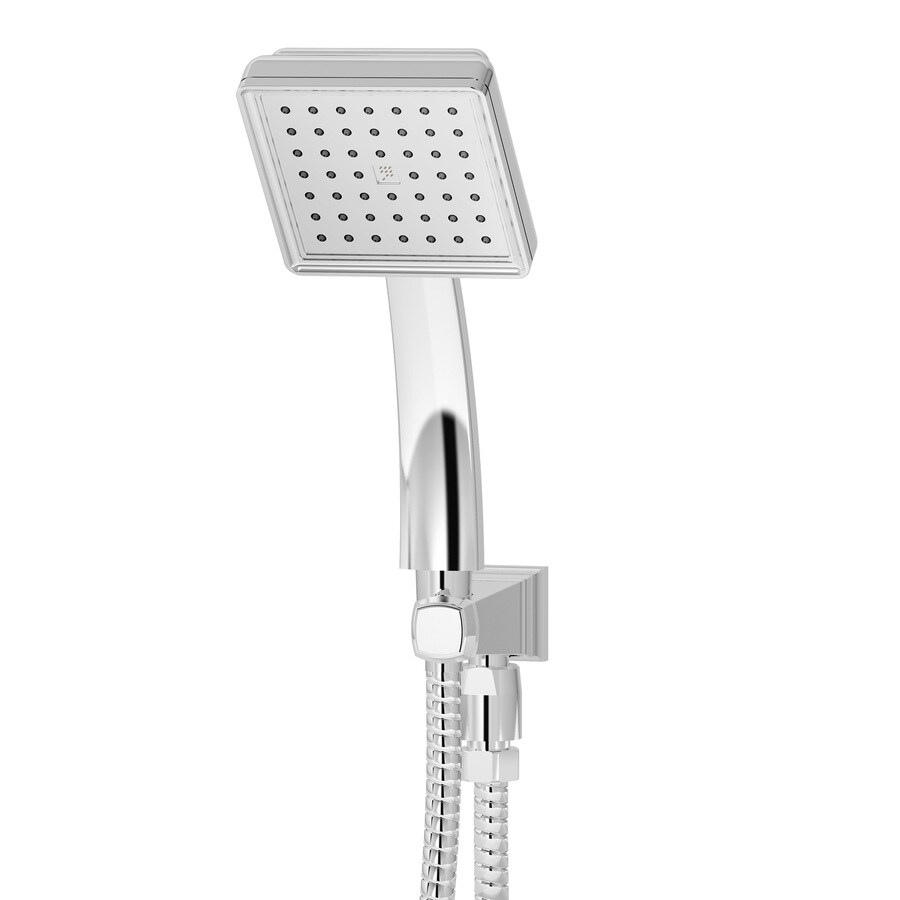 Symmons Oxford 4-in 2.5-GPM (9.5-LPM) Polished Chrome 1-Spray Hand Shower