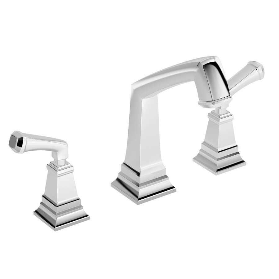 Symmons Oxford Chrome 2-Handle Adjustable Deck Mount Tub Faucet
