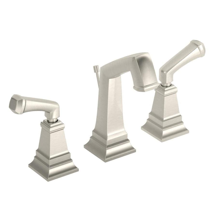 Shop Symmons Oxford Satin 2 Handle Widespread Commercial Bathroom Faucet At