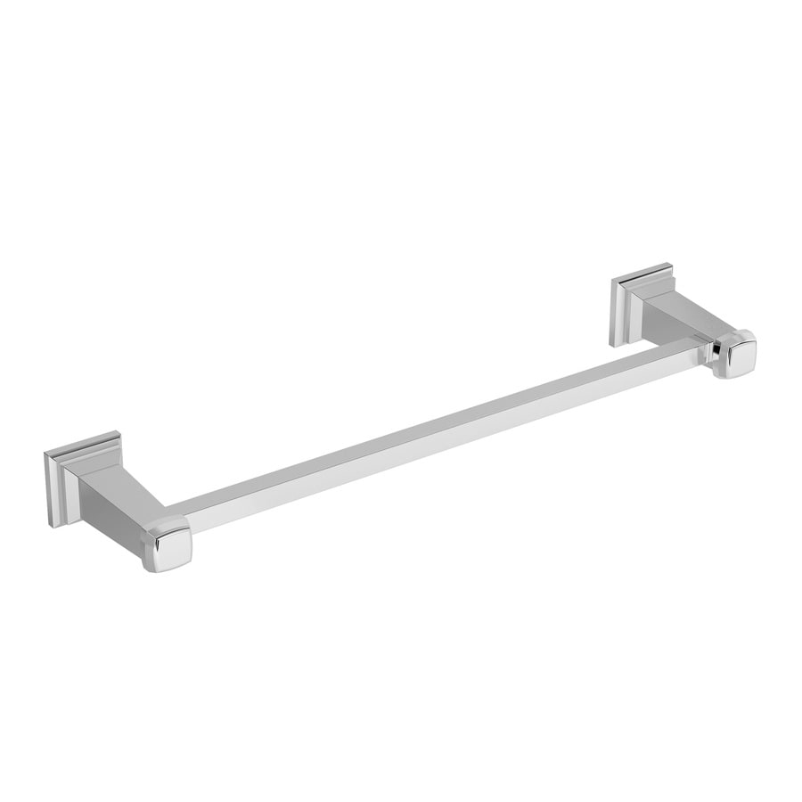 Symmons Oxford Chrome Single Towel Bar (Common: 24-in; Actual: 28.25-in)
