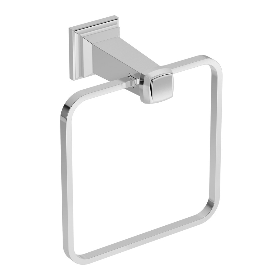 Symmons Oxford Chrome Wall-Mount Towel Ring
