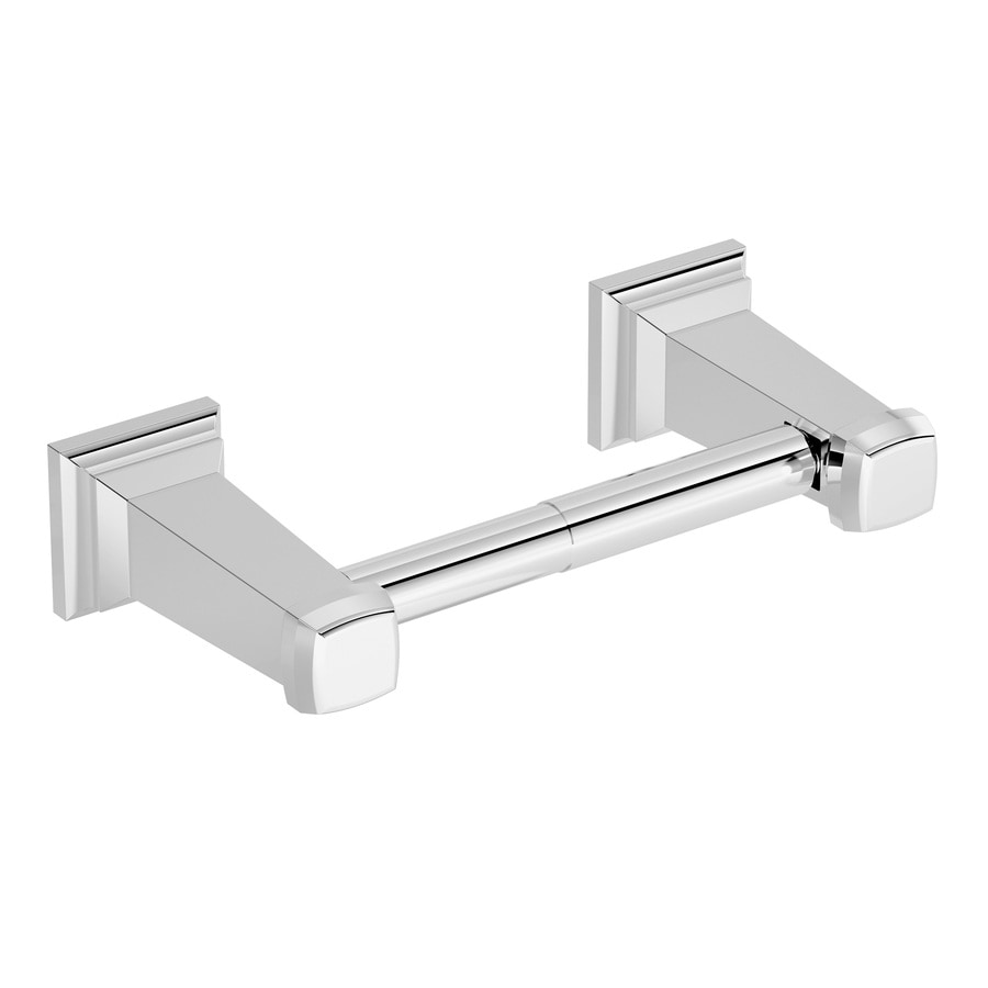 Symmons Oxford Chrome Surface Mount Toilet Paper Holder