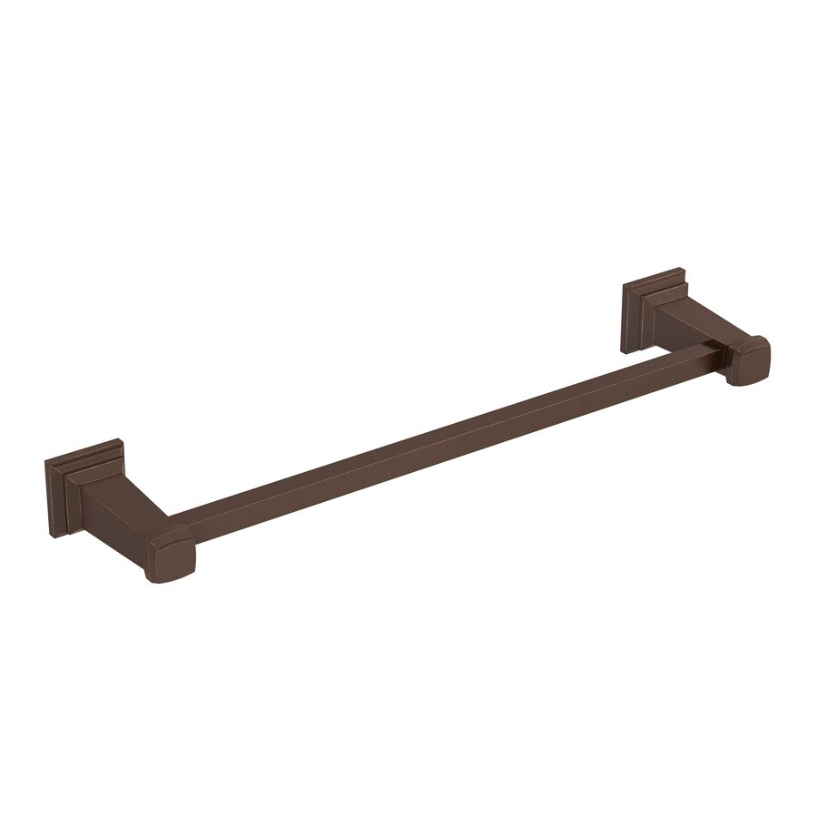 Symmons Oxford Oil-Rubbed Bronze Single Towel Bar (Common: 18-in; Actual: 21.5-in)