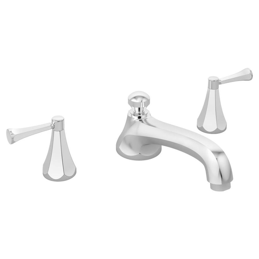 Symmons Canterbury Chrome 2-Handle Deck Mount Bathtub Faucet