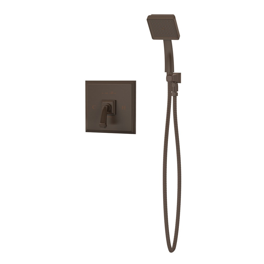 Symmons Oxford Oil Rubbed Bronze 1-handle Commercial Shower Faucet with Valve