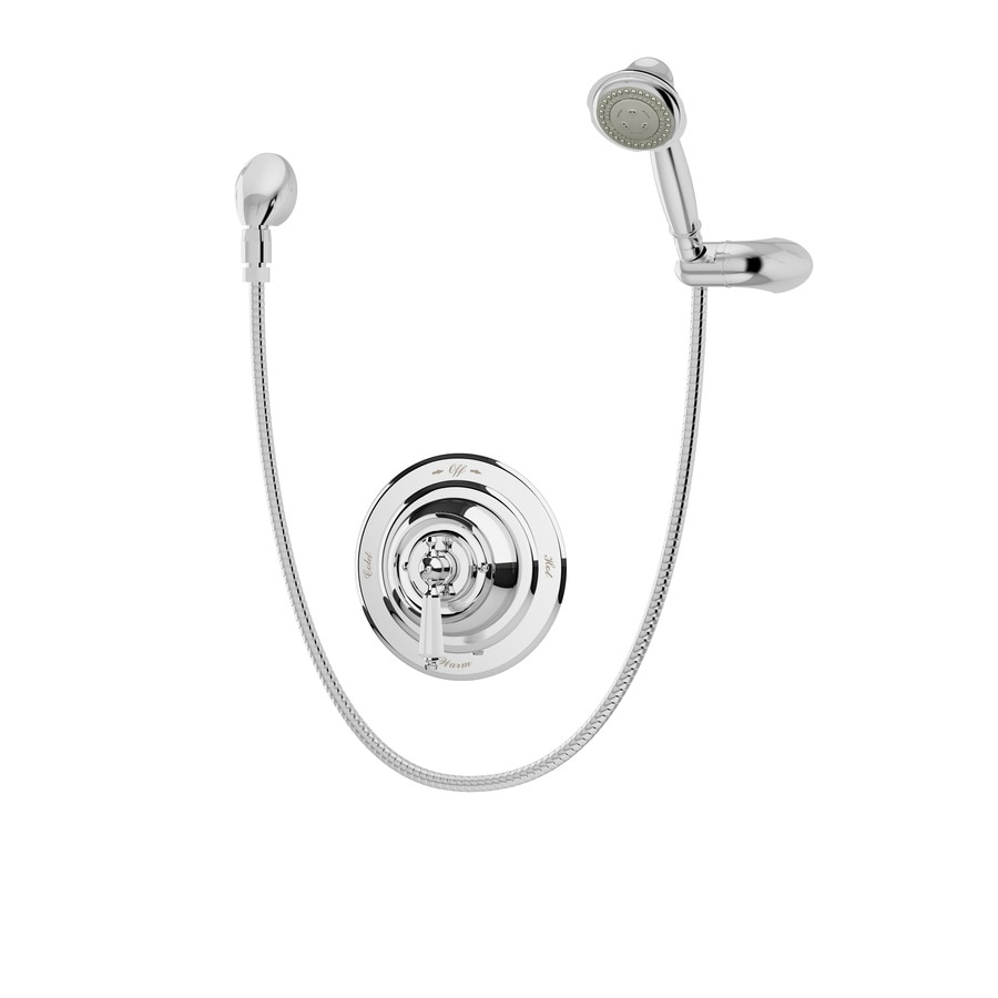 Symmons Carrington Chrome 1-handle Commercial Shower Faucet with Valve