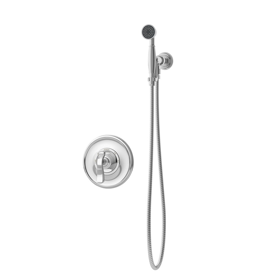 Symmons Winslet Chrome 1-Handle Shower Faucet with Single Function Showerhead