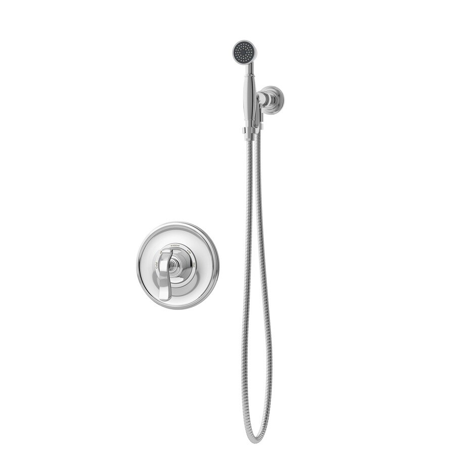 Symmons Winslet Chrome 1-handle Commercial Shower Faucet with Valve
