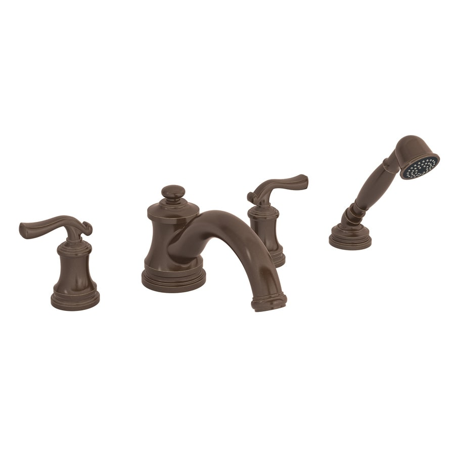 Symmons Winslet Oil-Rubbed Bronze 2-Handle Fixed Deck Mount Tub Faucet