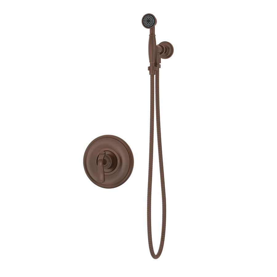 Symmons Winslet Oil-Rubbed Bronze 1-Handle Shower Faucet with Single Function Showerhead