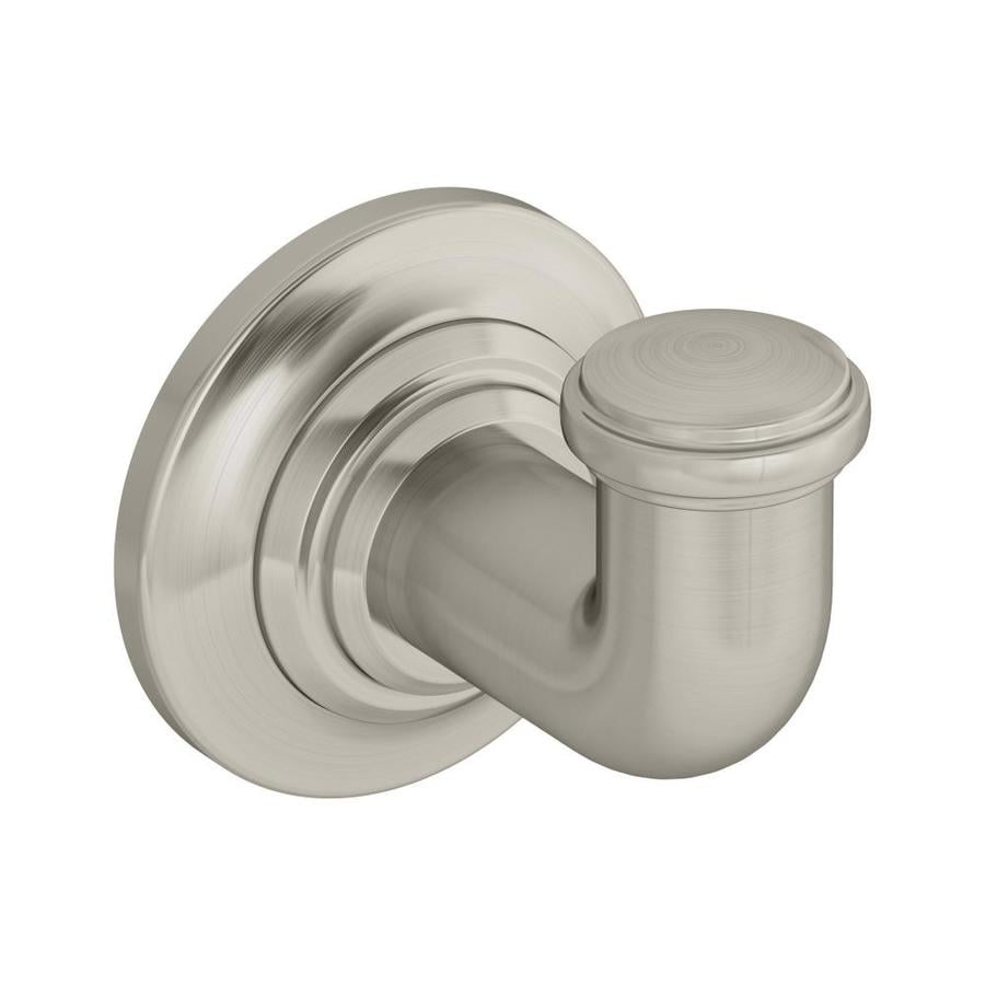 Symmons Winslet 1-Hook Satin Nickel Robe Hook