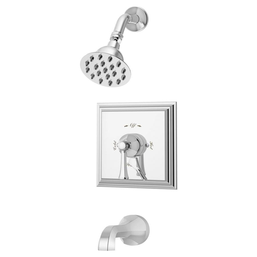 Symmons Canterbury Single Handle Tub And Shower Faucet Trim Kit With