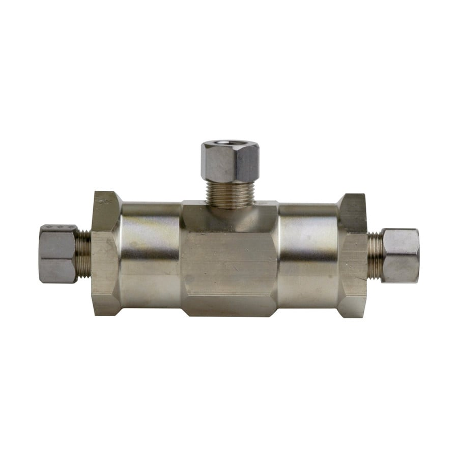 Symmons Mechanical Mixing 3 8 In Id X 3 8 In Od Compression Brass Mixing Valve In The Tub Shower Valves Department At Lowes Com