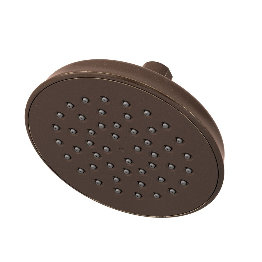 Symmons Winslet 6-in 2.5-GPM (9.5-LPM) Oil-Rubbed Bronze 1-Spray Rain Showerhead