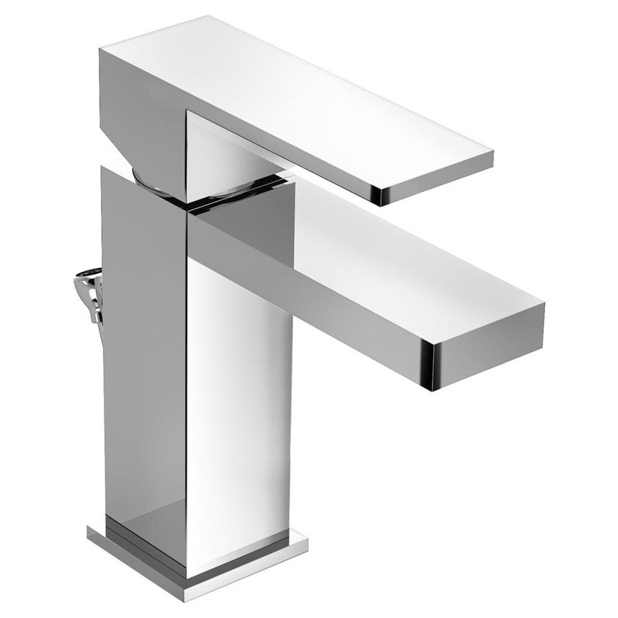 Shop Symmons Duro Chrome 1 Handle Single Hole Commercial Bathroom Faucet At