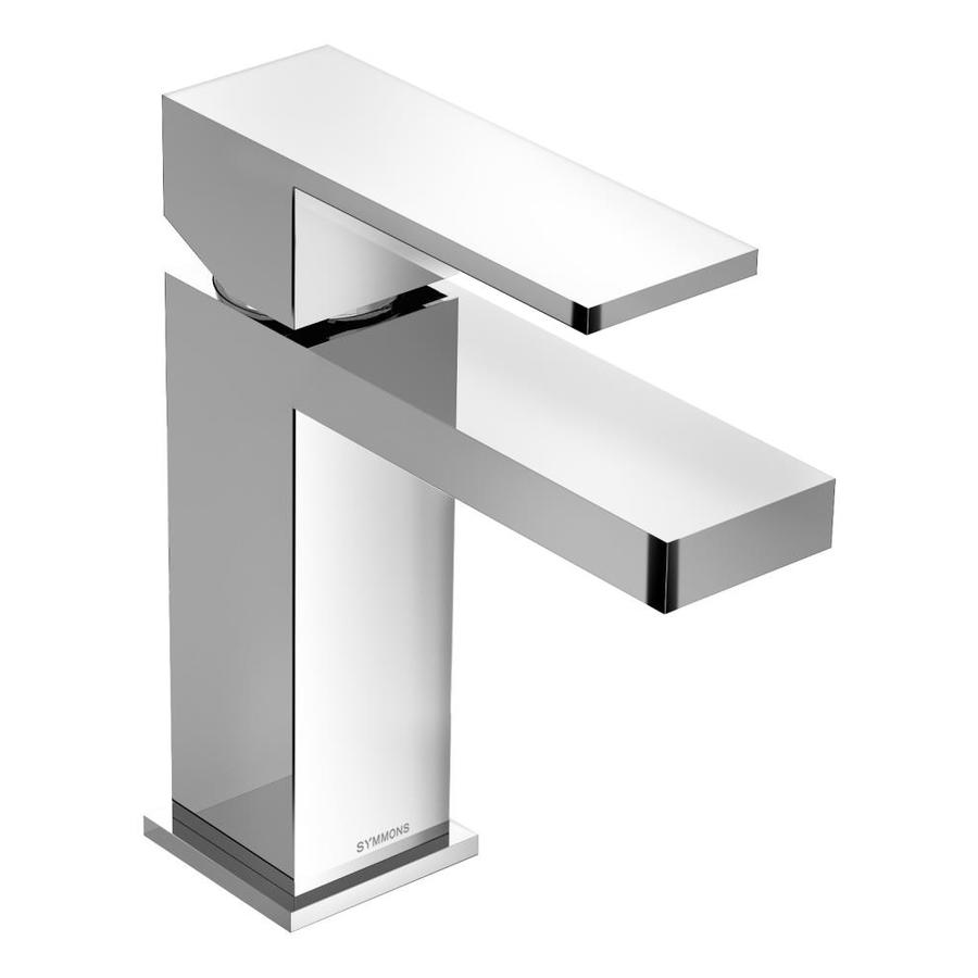 Symmons Duro Chrome 1-handle Single Hole Commercial Bathroom Faucet