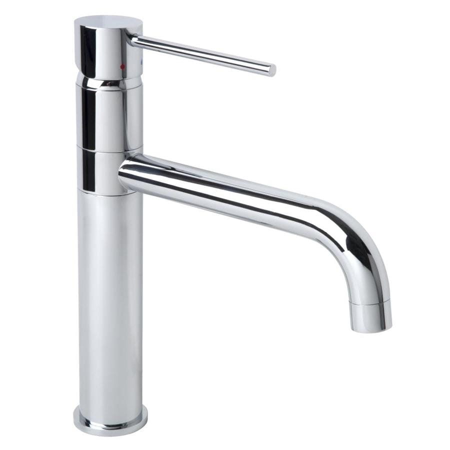 Shop Symmons Dia Chrome 1 Handle Single Hole Commercial Bathroom Faucet At