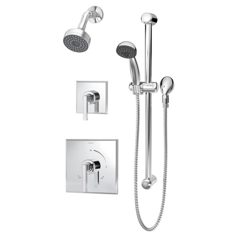 Symmons Duro Chrome 1-Handle Shower Faucet with Single Function Showerhead