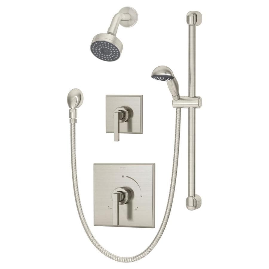 Symmons Duro Satin Nickel 2-Handle Shower Faucet