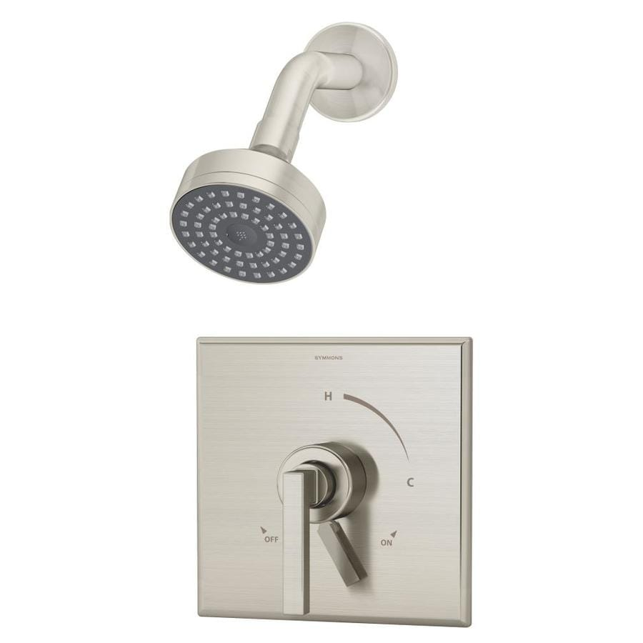 Symmons Duro Satin Nickel 1-Handle Commercial Shower Faucet