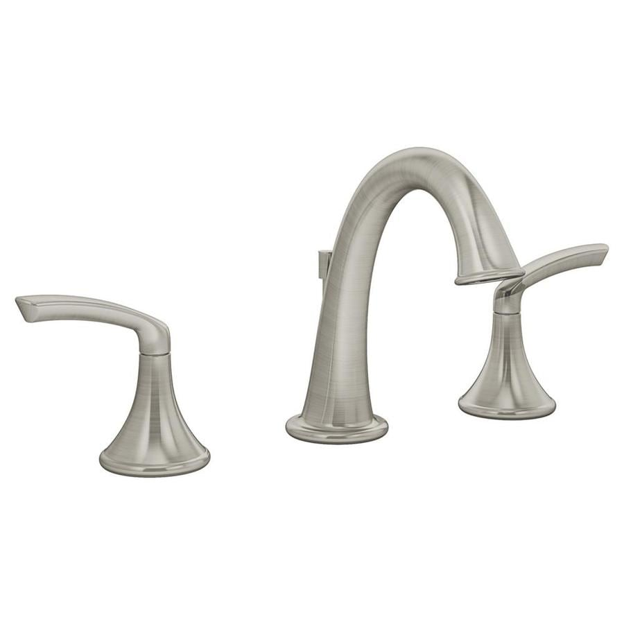 Shop Symmons Elm Satin Nickel 2 Handle Widespread Commercial Bathroom Faucet At