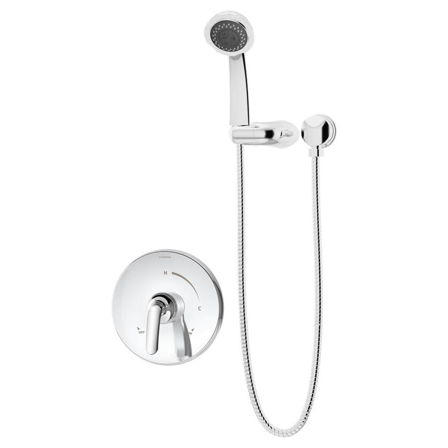 Symmons Elm Chrome 1-Handle Shower Faucet with Multi-Function Showerhead