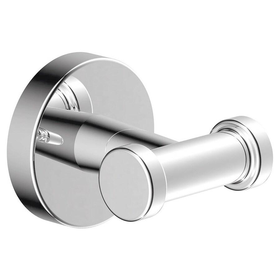 Symmons Dia 2-Hook Chrome Towel Hook