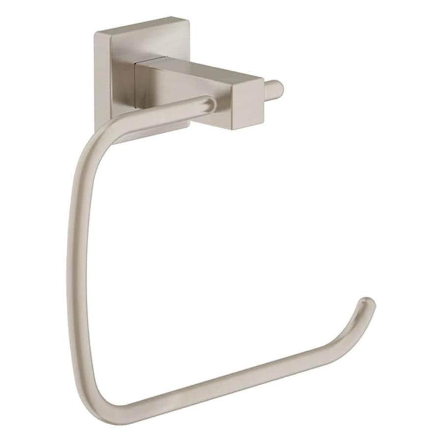 Symmons Duro Satin Nickel Wall-Mount Towel Ring