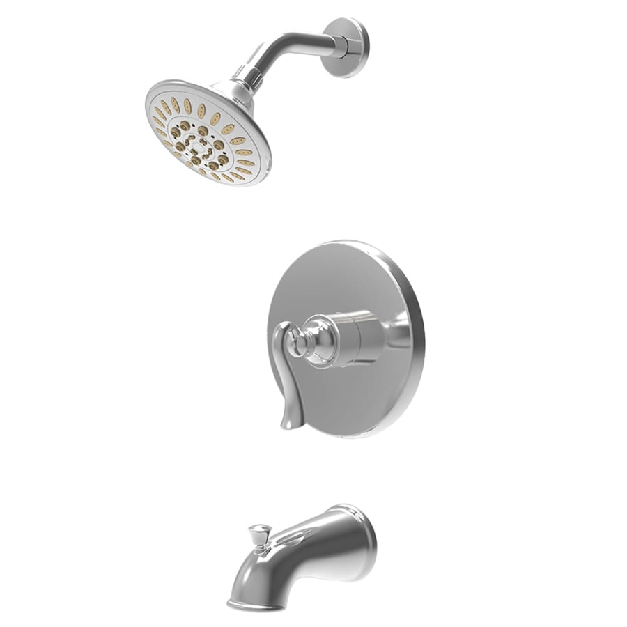 Shop Symmons Brenna Chrome 1-Handle WaterSense Bathtub and Shower ...