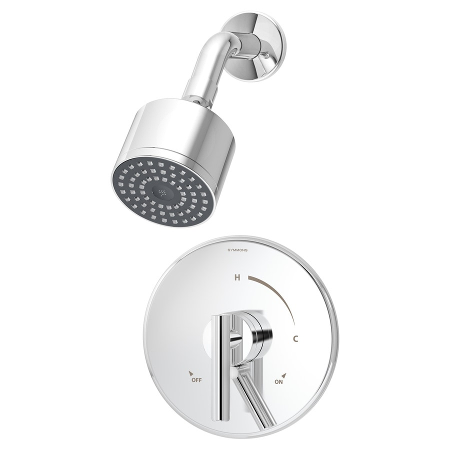 symmons dia chrome 1handle commercial shower faucet with valve