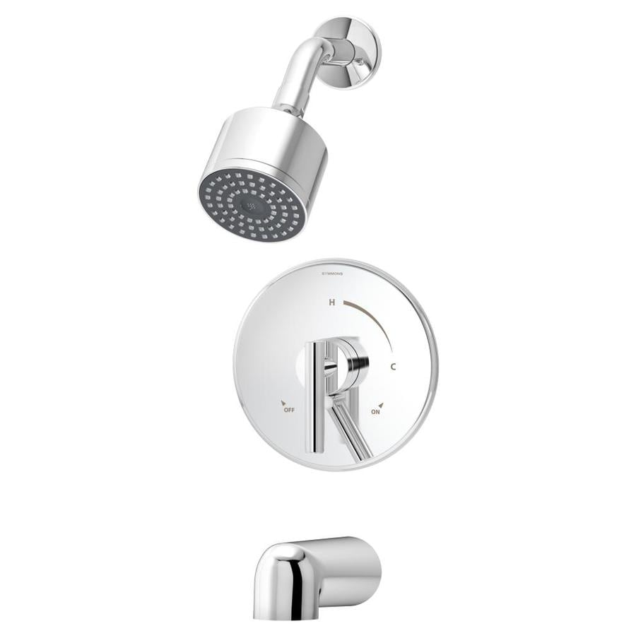 Symmons Dia Chrome 1-handle Commercial Bathtub and Shower Faucet