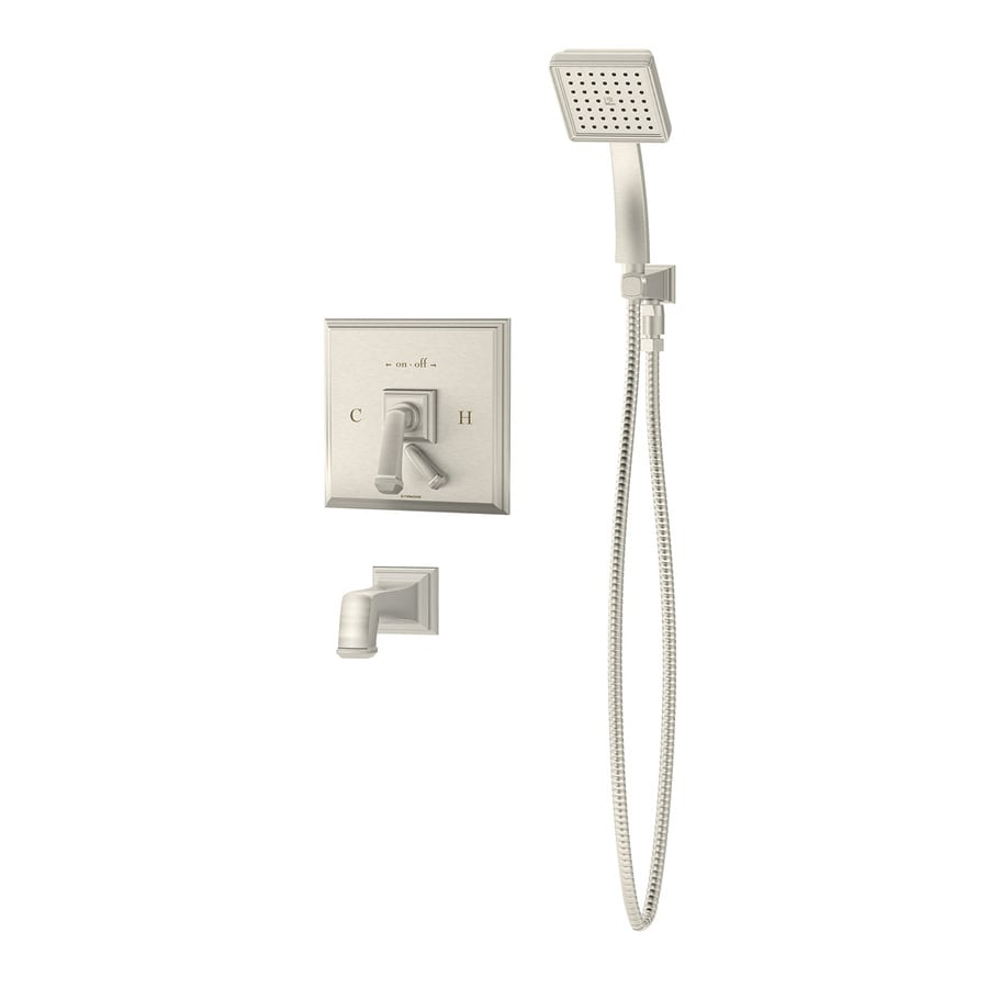 Symmons Canterbury Polished Chrome 2-Handle Shower Faucet with Single Function Showerhead