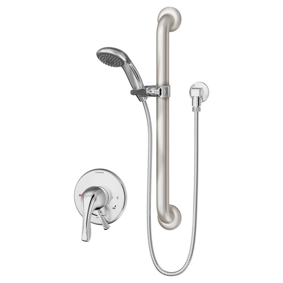 Symmons Origins Chrome 1-handle Commercial Shower Faucet with Valve