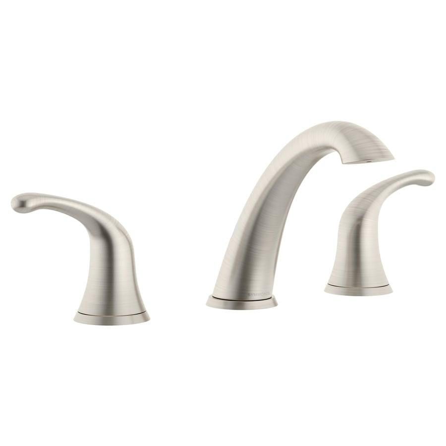 Symmons Unity Satin Nickel 2-Handle Widespread WaterSense Bathroom Faucet