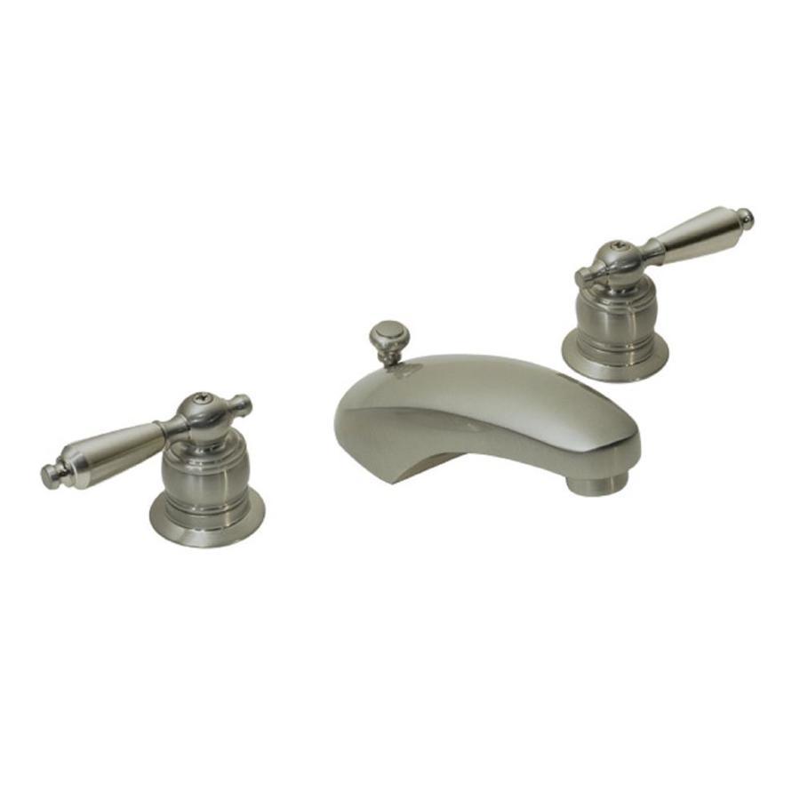 Symmons Unity Satin Nickel 2-handle Widespread Commercial Bathroom Faucet